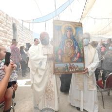 عنجرة: الكنيسة الكاثوليكية في الأردن تُحيي يوم الحج إلى مزار سيدة الجبل