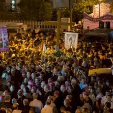 Procession de la Sainte-Croix à Mi'ilya, en Galilée/ ©️ Mazur/catholicnews.org.uk