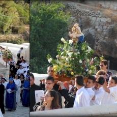 Procession Hortus Conclusus à Irtas, Bethléem