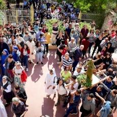 Fête de Notre-Dame de Palestine et procession à Deir Rafat