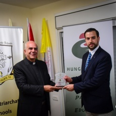 Latin Patriarchate Schools Administration thanks Hungarian Government for support during COVID-19 pandemic