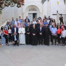 Visit of Patriarch Pizzaballa to Gaza in June 2021