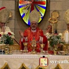 بطريرك السريان الكاثوليك يزور الأرض المقدسة وينصب المطران يعقوب أفرام سمعان نائبًا بطريركيًا