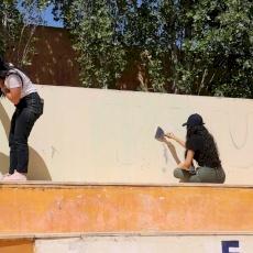 الشبيبة المسيحية في الأردن تشارك في يوم تطوعي في مركز سيدة السلام