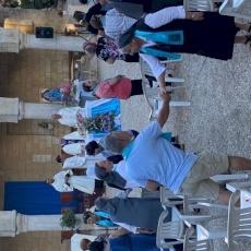 راهبات مار يوسف يحتفلن بعيد سيدة تابوت العهدفي أبو غوش