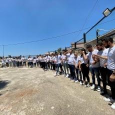 البطريرك بيتسابالا يلتقي شبيبة الحركة المريمية في عسفيا