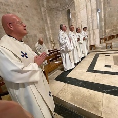 الاحتفال بالعيد الوطني الفرنسي في كنيسة القديسة حنة والقنصلية الفرنسية العامة في القدس