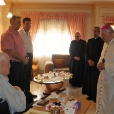 Latin Patriarchate celebrates World Day for Grandparents and the Elderly in Galilee