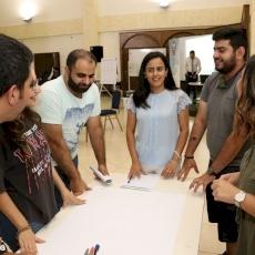 الأمانة العامة للشبيبة المسيحية في الأردن تنظم مخيما تدريبيا لأعضائها