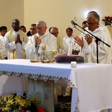 """في عيد القديسة مرثا، رهبانية """"آلام المسيح"""" تحتفل باليوبيل ٣٠٠ لتأسيسها وتدشين بيت الحجاج المُرمَّم"""