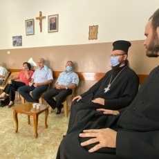 Naplouse : Les paroissiens de Rafidia accueillent leur nouveau prêtre, le Père Miguel Perez Jimenez