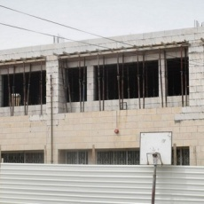 Expansion and renovation of the Latin Patriarchate school in Naour: one year later