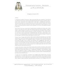 Message of Archbishop Pierbattista Pizzaballa for Lent 2019
