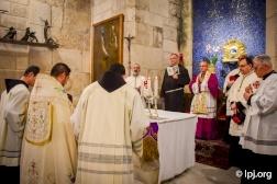 First Lenten solemn entry into the Holy Sepulcher