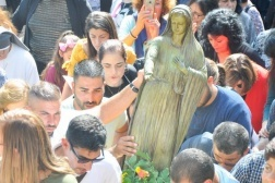Deir Rafat: Celebration of the solemnity of Blessed Virgin Mary, Queen of Palestine