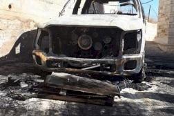 مجلس رؤساء الكنائس الكاثوليكية يستنكر أعمال التخريب في قرية الطيبة
