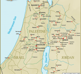 Mappa della Diocesi