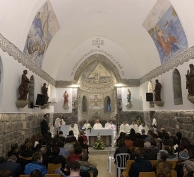 Feast of Chair of St. Peter celebrated in Tiberias