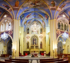 برنامج احتفالات الأسبوع المقدس من كوكاتدرائية البطريركية اللاتينية للسنة ٢٠٢٠