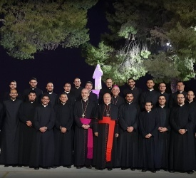 Annunciation of the Lord: Seminarians of Latin Patriarchate offer prayer to Virgin Mary