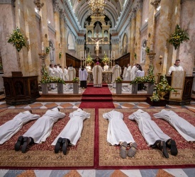 Six new Franciscan deacons in Jerusalem