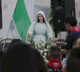 احتفالات اختتام الشهر المريمي في بعض رعايا أبرشية القدس