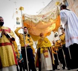 A Bethléem, les Salésiens accueillent la célébration du Sacré-Cœur de Jésus