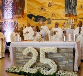 الأب رفعت بدر في احتفال يوبيله الكهنوتيّ: محبّة الله ومحبّة الناس هي الذهب بعينه