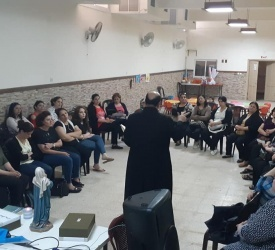 Gaza: St. Anne and St. Joseph groups create sense of unity among parishioners of Holy Family parish