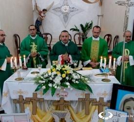 رعية القديس ميخائيل للاتين في السماكية تشكر الأب ابراهيم نفاع وتستقبل الأب أكرم مشربش
