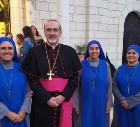 Taybeh: Institute of Incarnate Word Sisters' new service at Beit Afram Elderly Home