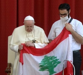 Pope calls for day of prayer, fasting in solidarity with Lebanon
