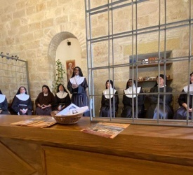 Poor Clares pray for Mother Church, through intercession of St. Francis of Assisi