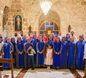 Religious Family of Incarnate Word celebrates 25th anniversary of apostolic work in Holy Land