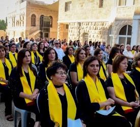 """البابا فرنسيس: """"علينا تعزيز إندماج النساء، خاصّةً حيث تُتَّخذ القرارات المهمّة"""""""