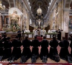 16 Franciscan friars profess vows in Jerusalem