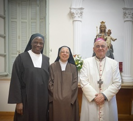 Two Carmelite Sisters celebrate Golden and Silver Jubilees in Haifa