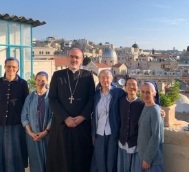 Little Sisters of Jesus pray for people of torn apart Holy Land