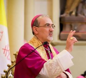 صاحب الغبطة بييرباتيستا بيتسابالا وتاريخ بطريركية القدس للاتين