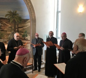 Church of Holy Land and Catholic Ordinaries pray in time of Coronavirus