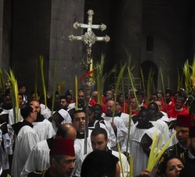 VIDEO: Palm Sunday procession and Pontifical Mass from the Basilica of Holy Sepulchre