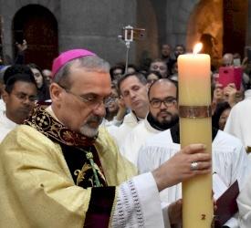 Homilía de la Vigilia Pascual de Mons. Pierbattista Pizzaballa 2021