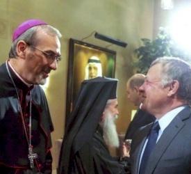 Gli auguri del Patriarca Latino al re Abdullah II in occasione del Centenario della Giordania