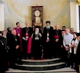 Il Patriarca Pizzaballa visita il Patriarcato greco-ortodosso per gli auguri di Pasqua