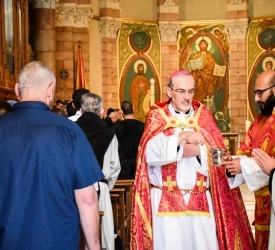 """Patriarch Pizzaballa on Pentecost: """"Jerusalem is a house of prayer for all peoples"""""""