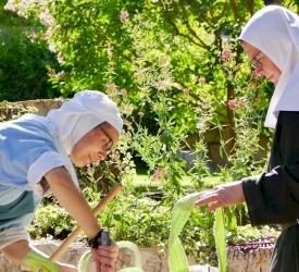 Giornata dell'amicizia all'Abbazia di Santa Maria della Resurrezione di Abu Gosh
