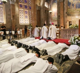 14 Salesians ordained to the Diaconate in Gethsemane