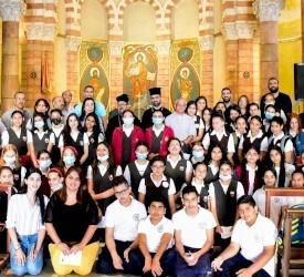 Prière œcuménique pour les élèves des écoles chrétiennes de Jérusalem