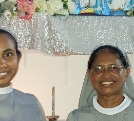 Sisters of Perpetual Help pray for migrants