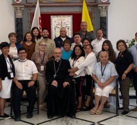 Patriarch Pizzaballa receives first group of American pilgrims